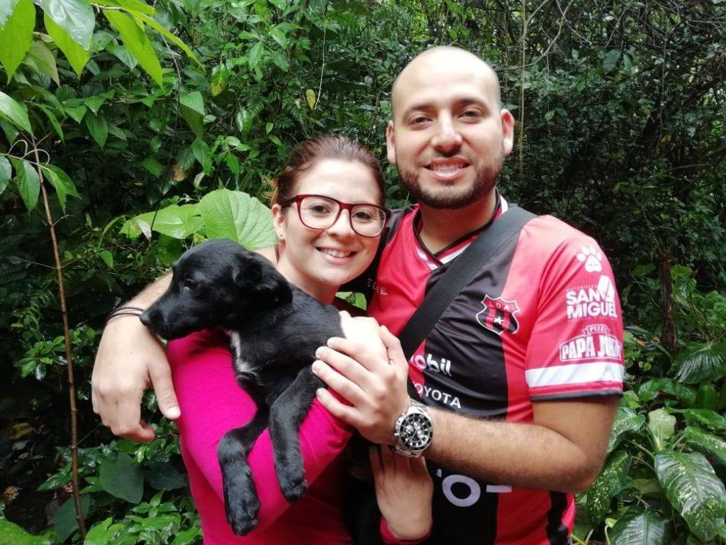 Derin found a new loving family. - Animal Rescue Center Costa Rica