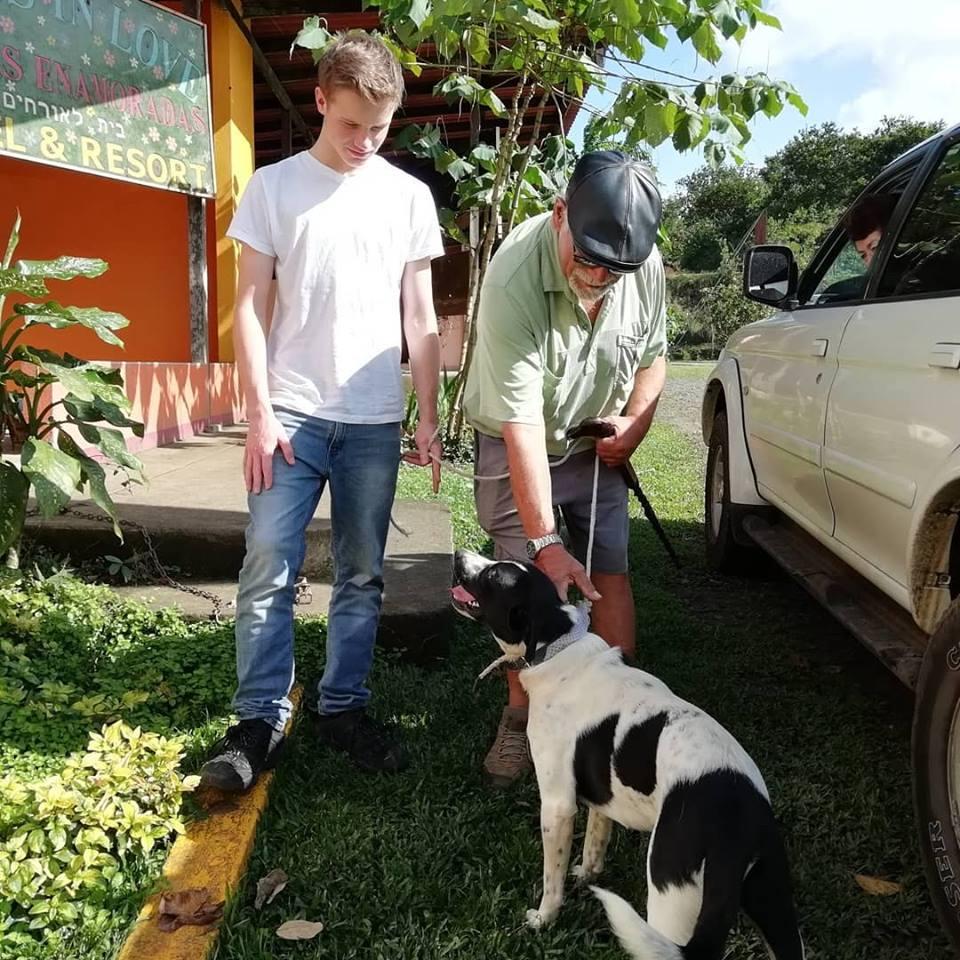 Jude has a new loving family! - Animal Rescue Center Costa Rica